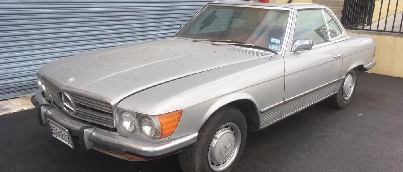 Mercedes 450SL do renowacji 1973 pierwsza seria