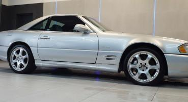 Mercedes SL500 SILVER ARROW R129