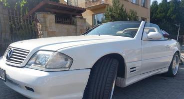 Mercedes 500SL AMG Biały R129