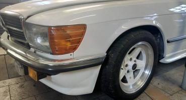 Mercedes 500SL AMG R107 Po renowacji