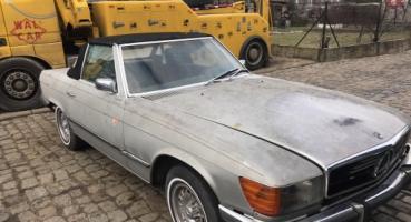 Mercedes 350SL do renowacji 1971 pierwsza seria