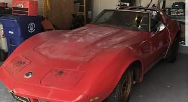 Corvette c3 1973 v8 do renowacji