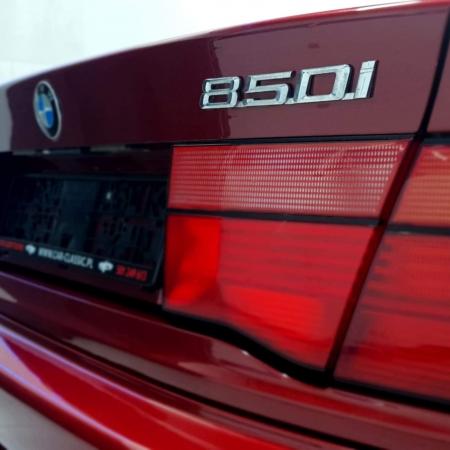 BMW 850 Bordowa - Sprzedana - www.car-classic.pl_1