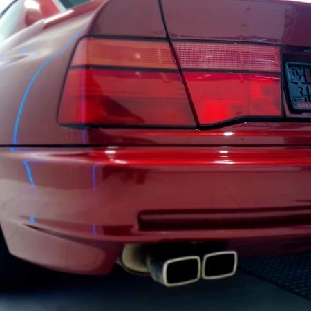 BMW 850 Bordowa - Sprzedana - www.car-classic.pl_2