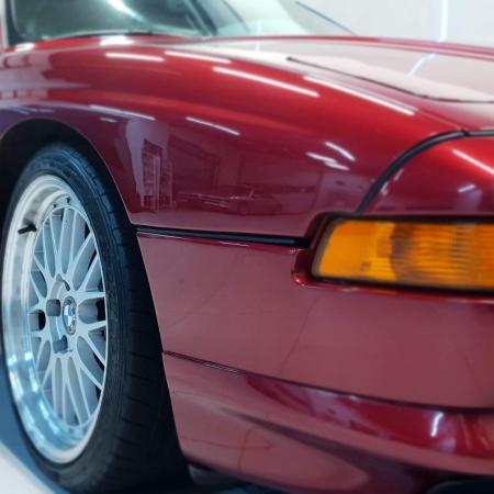 BMW 850 Bordowa - Sprzedana - www.car-classic.pl_6