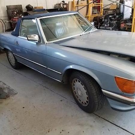 Mercedes r107 300SL_7