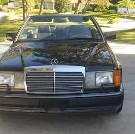 Mercedes w124 300CE cabrio CZARNY_3