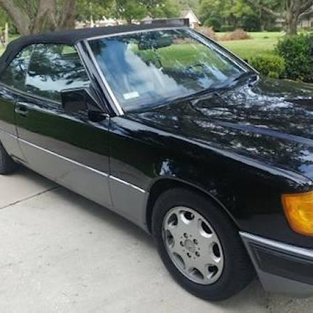 Mercedes w124 300CE cabrio CZARNY_5