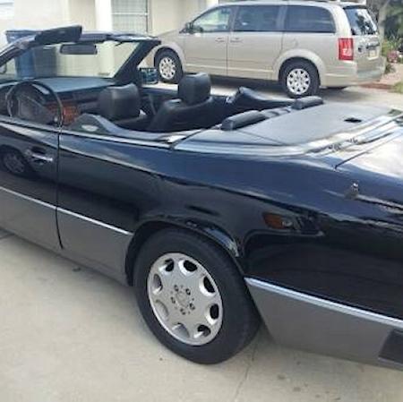 Mercedes w124 300CE cabrio CZARNY_6