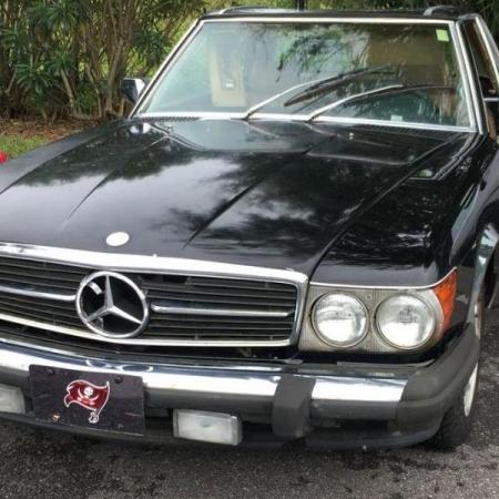 Mercedes 560SL R107_10