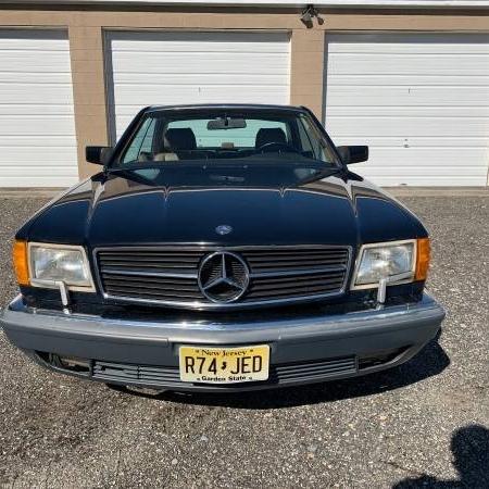 Mercedes sec560 1987 124.000 mil