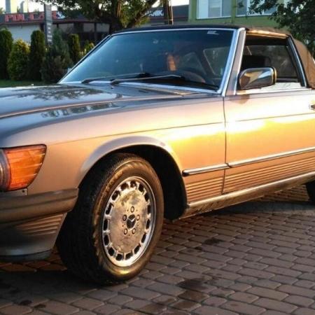 Mercedesl SL560 Beżowy - Sprzedany_15