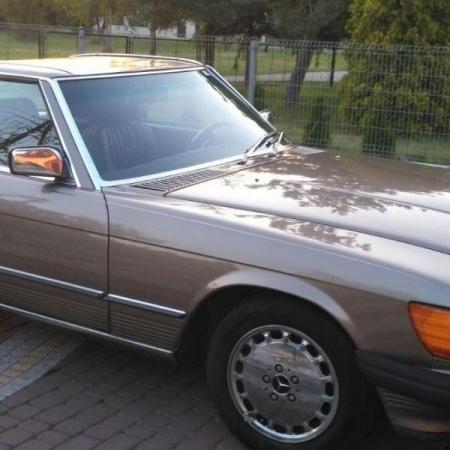 Mercedesl SL560 Beżowy - Sprzedany_9