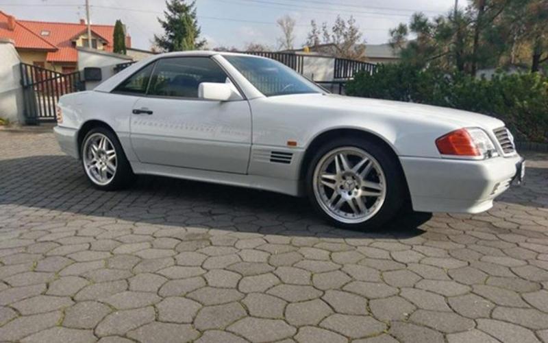 Mercedes 500 SL R12