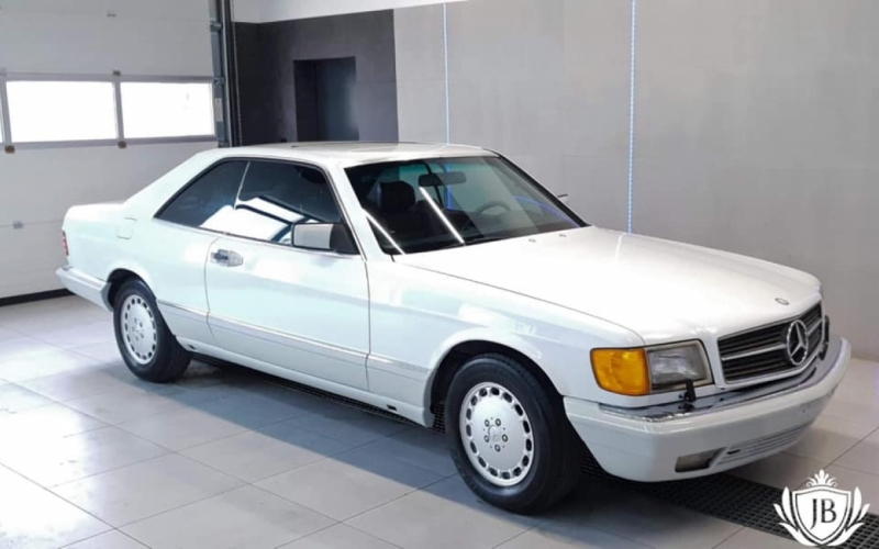 SEC 560 Mercedes, bardzo rzadkie zestawienie kolorystyczne
