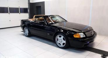 SL600 1994r 64.000 mil czarny AMG