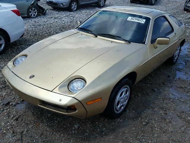Porsche 928 Złote Do renowacji