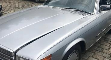 MERCEDES 560SL nowy soft top