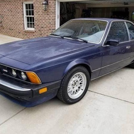 BMW M6 e24 1987