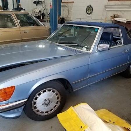 Mercedes r107 300SL_2