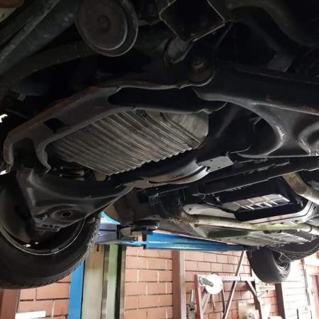 Mercedes SL560 Czarny po renowacji