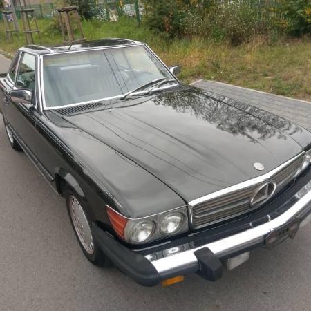 Mercedes SL560 Czarny po renowacji_1