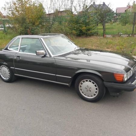 Mercedes SL560 Czarny po renowacji_6