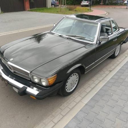 Mercedes SL560 Czarny po renowacji_9