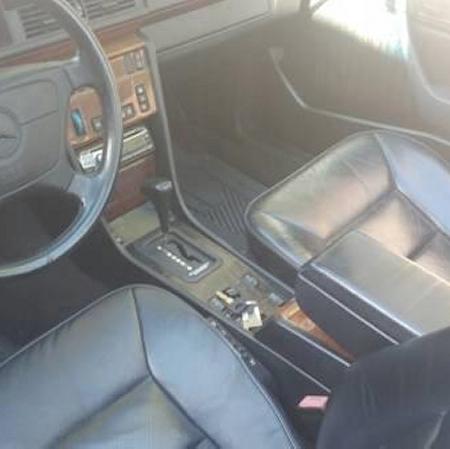 Mercedes w124 300CE cabrio CZARNY_1
