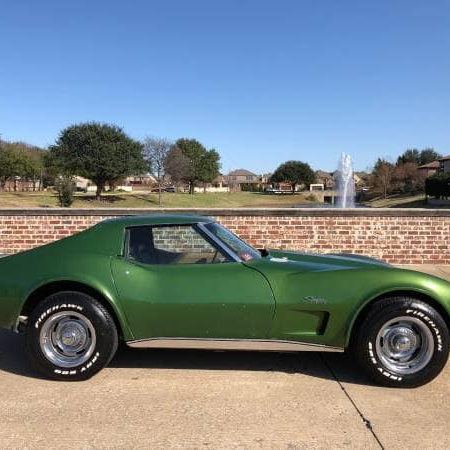 Chevrolet Corvette Green_1