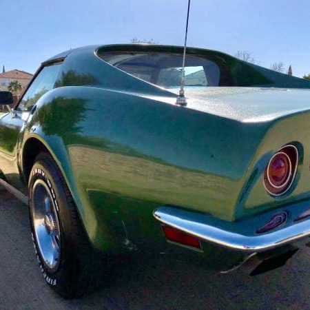 Chevrolet Corvette Green_2