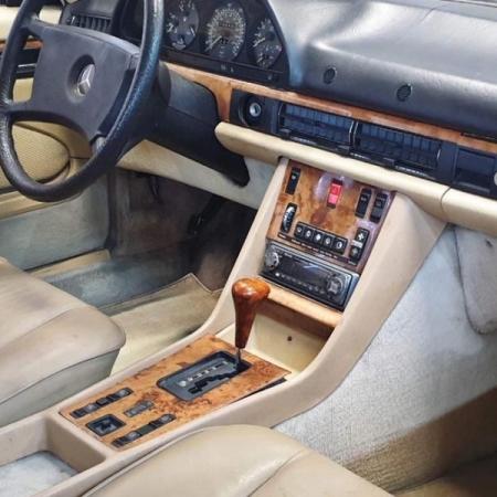 Mercedes 500SEC 1982
