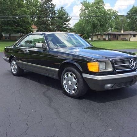 Mercedes 500sec stan BDB