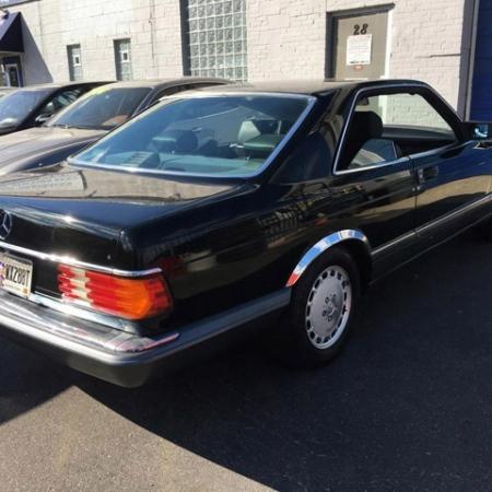 Mercedes sec560 1990 40.000 mil