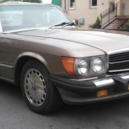 Mercedesl SL560 Beżowy - Sprzedany_10