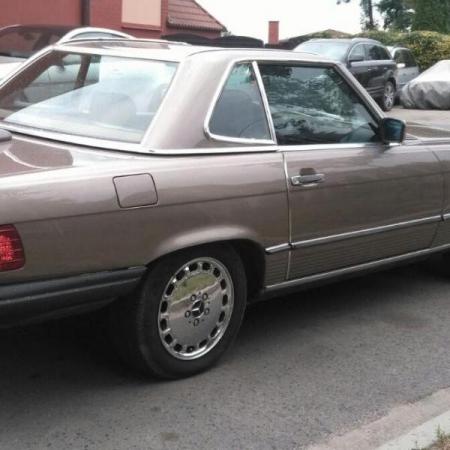 Mercedesl SL560 Beżowy - Sprzedany_12