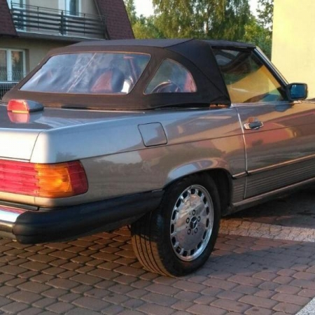 Mercedesl SL560 Beżowy - Sprzedany_14