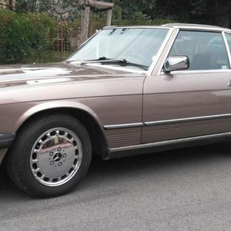 Mercedesl SL560 Beżowy - Sprzedany_1