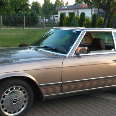 Mercedesl SL560 Beżowy - Sprzedany_3