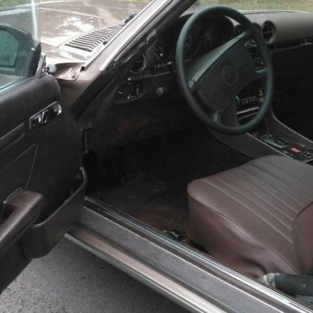 Mercedesl SL560 Beżowy - Sprzedany_4
