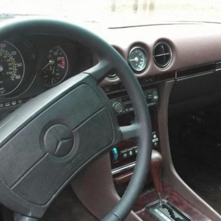 Mercedesl SL560 Beżowy - Sprzedany_6