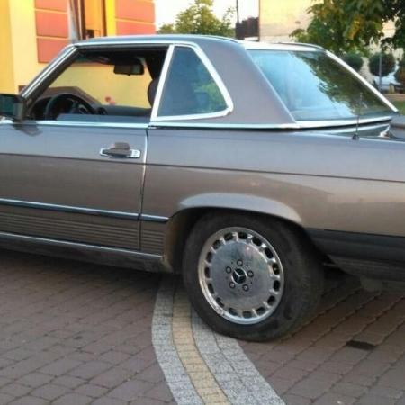 Mercedesl SL560 Beżowy - Sprzedany_7