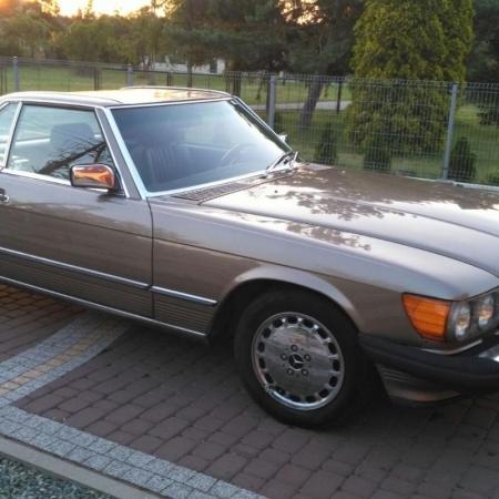 Mercedesl SL560 Beżowy - Sprzedany_8
