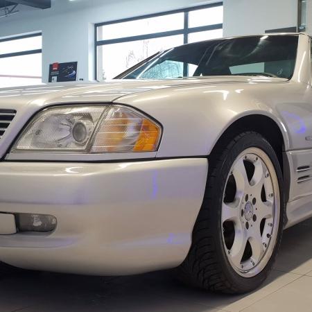 Mercedes SL500 SILVER ARROW R129_2