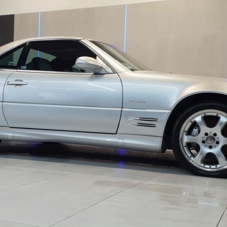 Mercedes SL500 SILVER ARROW R129_5