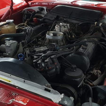 Mercedes SL560 Czerwony po renowacji_10