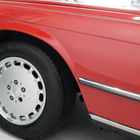 Mercedes SL560 Czerwony po renowacji_11