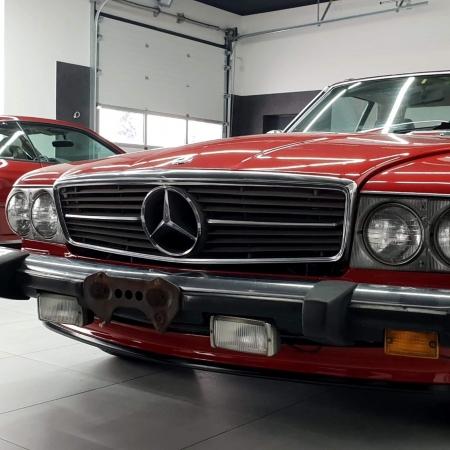 Mercedes SL560 Czerwony po renowacji_3