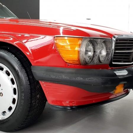 Mercedes SL560 Czerwony po renowacji_4
