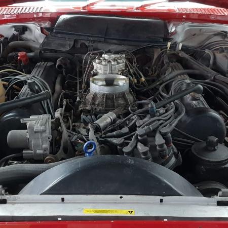 Mercedes SL560 Czerwony po renowacji_9